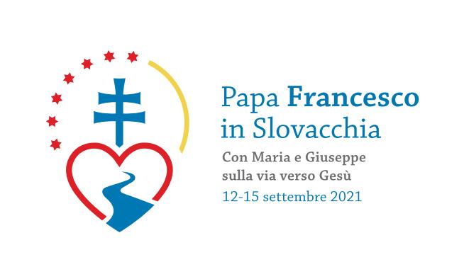 El logo del viaje del Papa a Eslovaquia