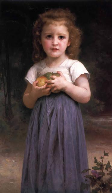 Адольф Вильям Бугро - Ребенок с яблоками (1895)