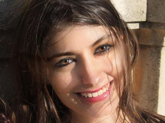 Sarah Katz, ex-moderadora do Facebook. Sarah Katz