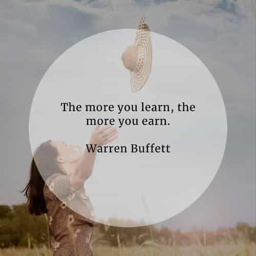 Money quotes that'll help you grow financially stable