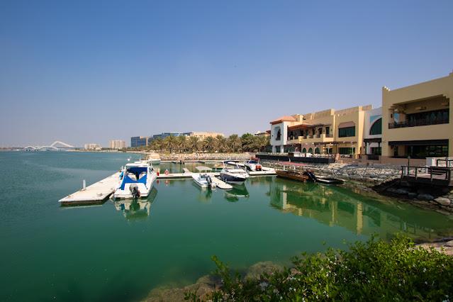 Vista dal Souq al Maqta-Abu Dhabi