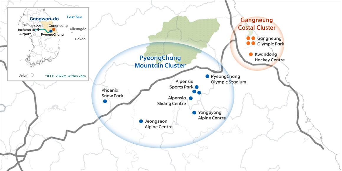 Lalalaland PyeongChang Winter Olympic Stadiums in PyeongChang