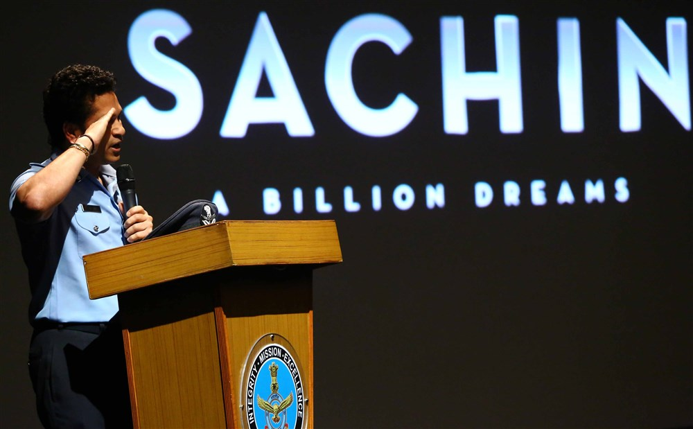 Sachin A Billion Dreams Special Screening for Indian Armed Force