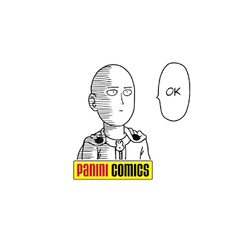 One-punch Man panini comics