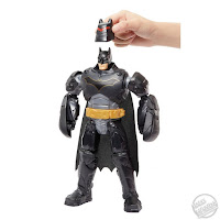 Toy Fair 2019 Mattel Batman Missions Thrasher Armor Batman 001