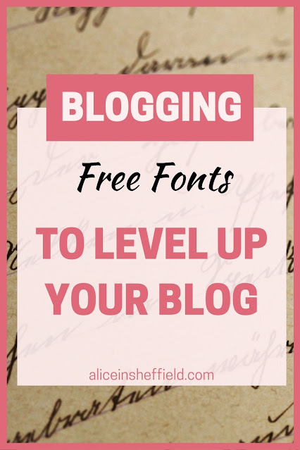 Free to use fonts