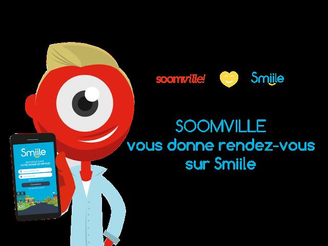 Smiile souhaite la bienvenue aux utilisateurs de Soomville