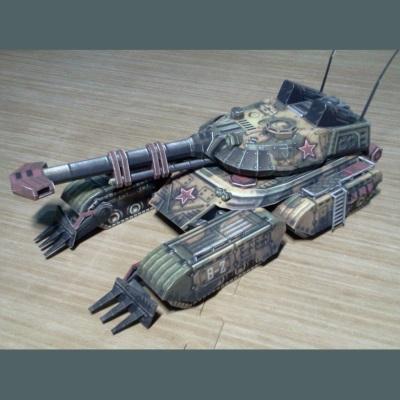C&C Sentinel Tank Paper Model