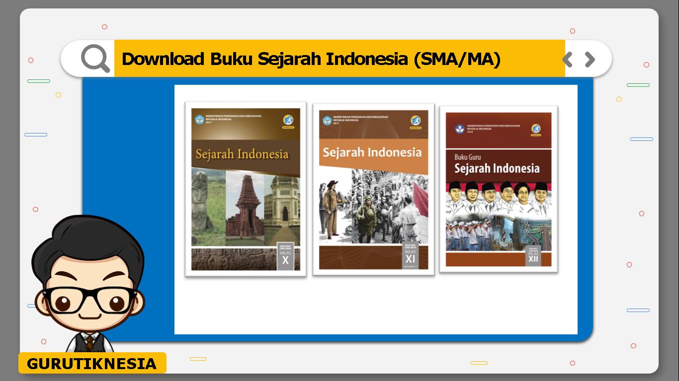 download gratis buku pdf sejarah indonesia untuk sma/ma