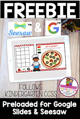 freebie google slides and seesaw