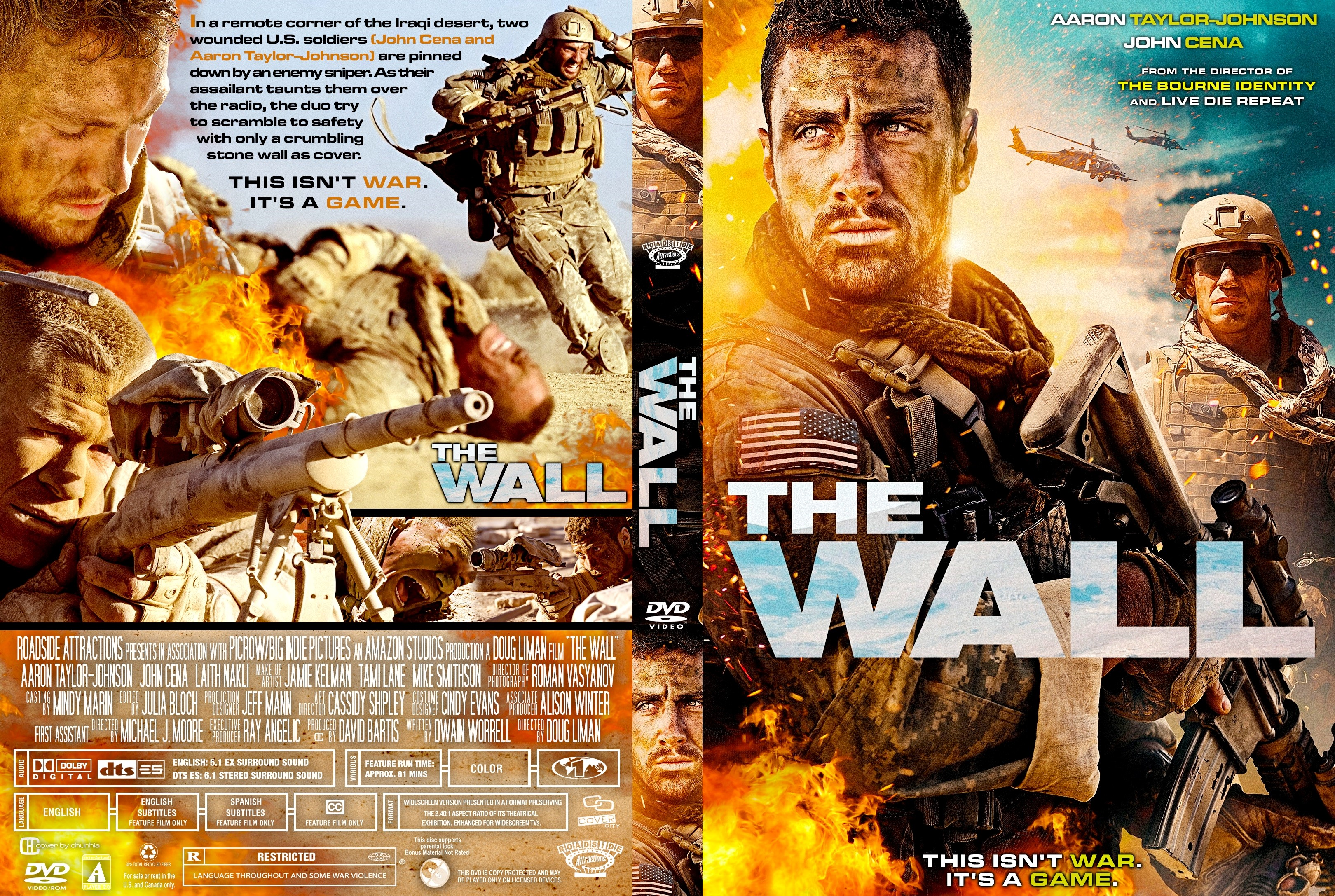 The Wall DVD Cover - Cover Addict - DVD and Bluray Covers