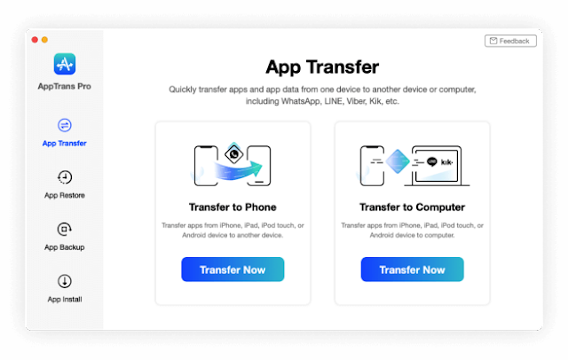 iMobie AppTrans Pro