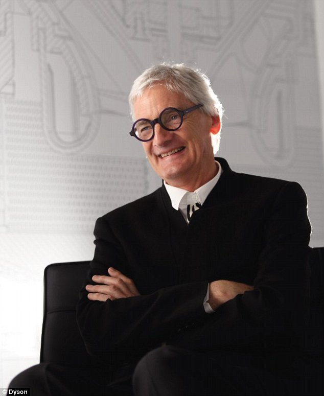 Hardwork finally payoff part iv for James dyson