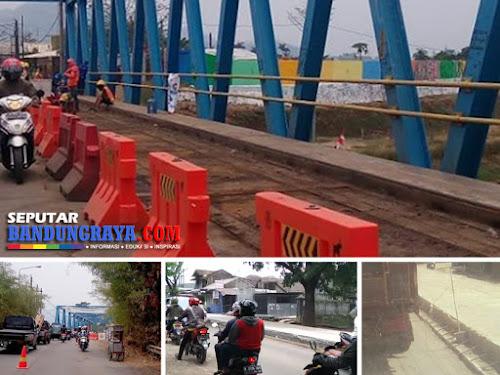 Perbaikan jembatan citarum bojongsoang 2018