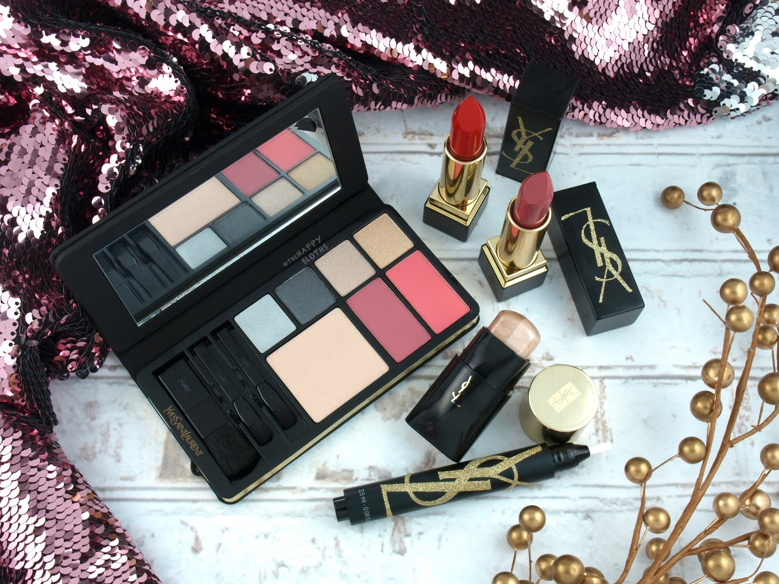 Yves Saint Laurent | Holiday 2018 Gold Attraction Collection: Review and Swatches