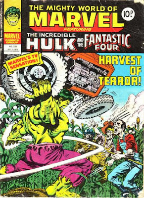 Mighty World of Marvel #328, the Hulk