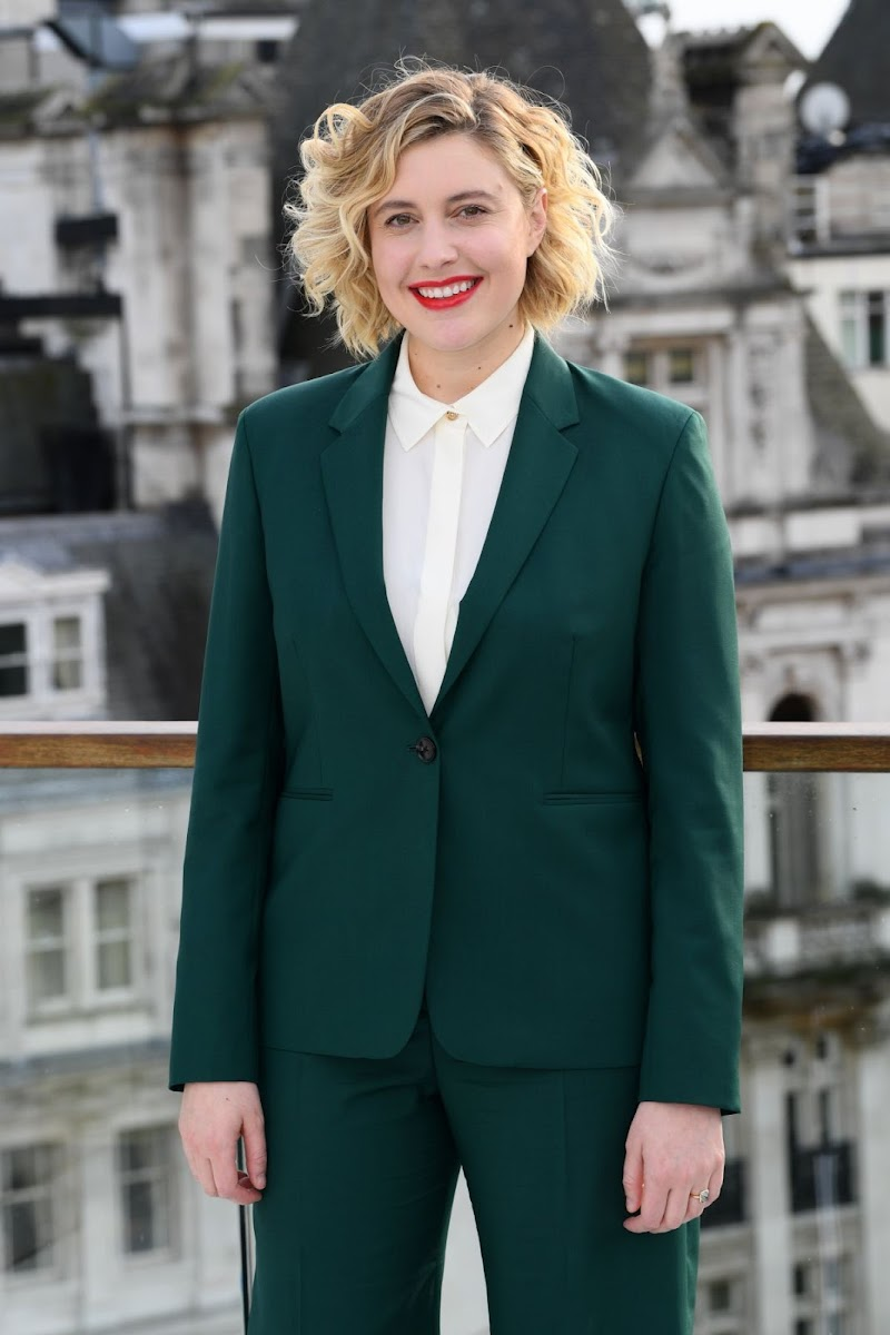 Greta Gerwig Clicks at Little Women Photocall at Corinthia Hotel in London 16 Dec-2019