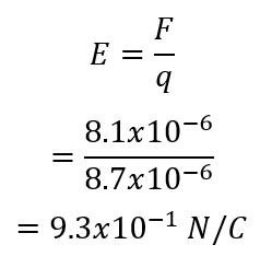 فيزياء 3 مقررات -حل أسئلة المقنن الفصل السادس (المجالات الكهربائية )