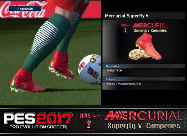 Nike Mercurial Superfly V Campeões Boots PES 2017