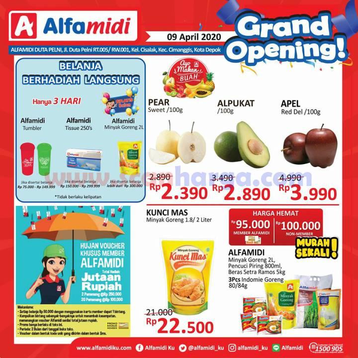 ALFAMIDI Promo Grand Opening DUTA PELNI DEPOK Hanya 3 Hari