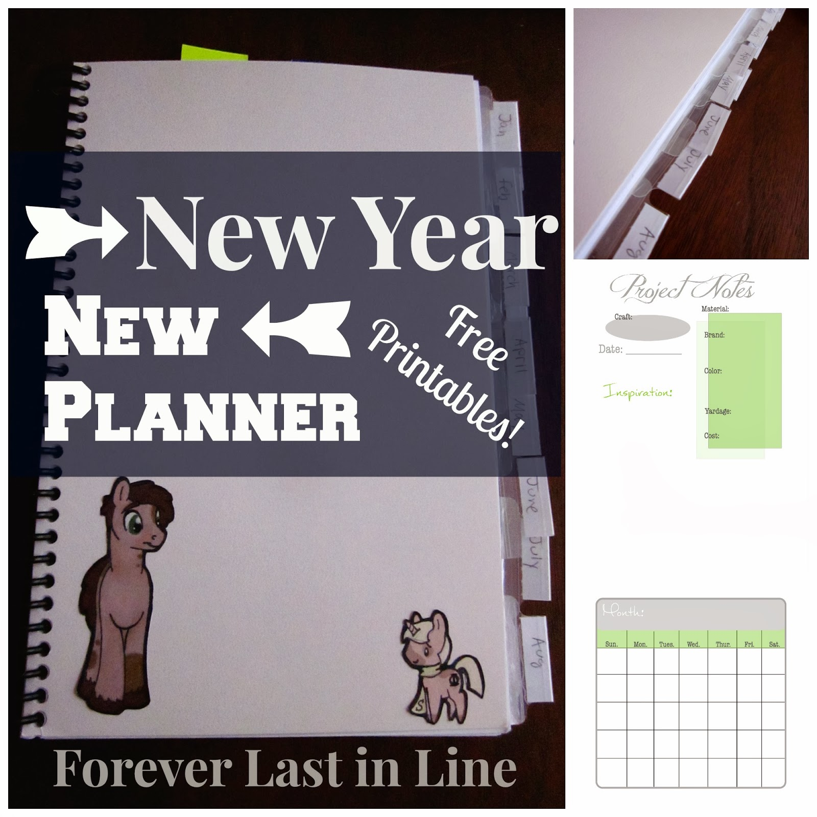 Forever Last In Line New Year New Planner Free Printables