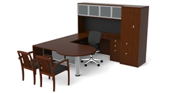 Cherryman Industries Jade Executive Desk Configuration