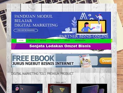Bikin Landingpage Bisnis Toko Online Cuma 50 Ribu