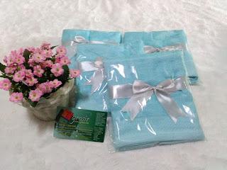 Souvenir Khitan Handuk Kemas Plastik + Pita