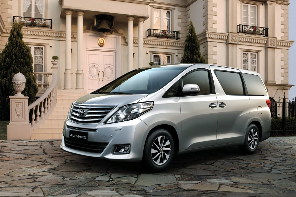 brand new toyota alphard for sale all innova venturer mildly refreshes luxury mpv philippine car news