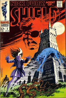 Nick Fury Agent of SHIELD #3