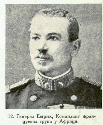 General Aymerich, Commandant of the French troops in Africa.