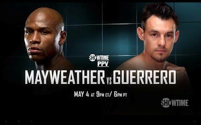 Floyd Mayweather vs Robert Guerrero