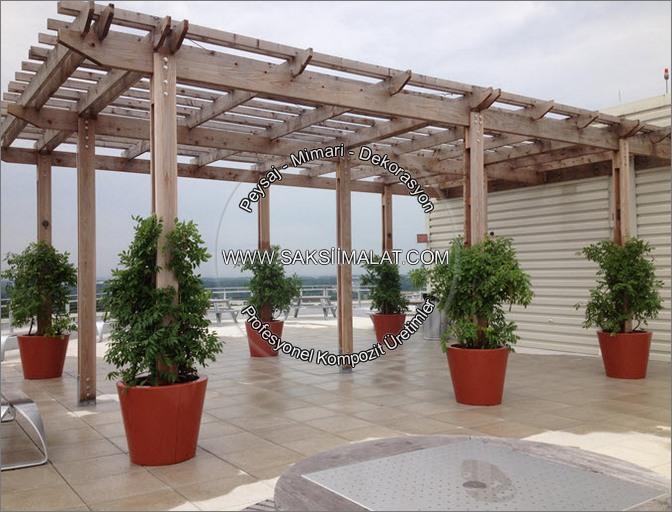 otel saksıları hotel çiçeklikler bahçe saksıları lobi saksısı oda saksıları otel için saksı çeşitleri otel cafe saksıları kompozit fiber ctp saksı çeşitleri modelleri