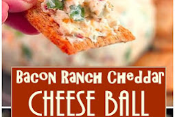Bacon Ranch Cheddar Cheese Ball