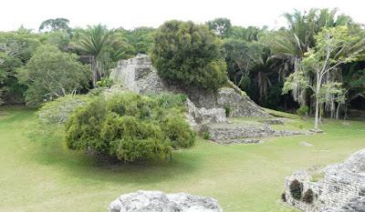 Maya-Ruinde Kohunlich, Yucatán Dezember 2017