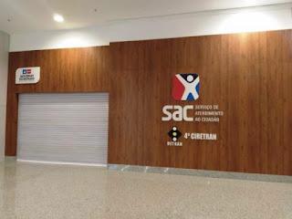 SAC suspende atendimento na Bahia