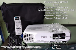 Proyektor Epson EB-W28 Segel (Second)