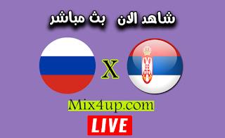 نتيجة مباراة روسيا وصربيا اليوم بتاريخ 03-09-2020 في دوري الأمم الأوروبية
