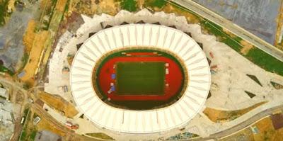 ملعب جابوما فى مدينة دوالا الكاميرونية
