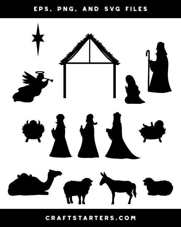 Manger Svg : manger, Where, Nativity