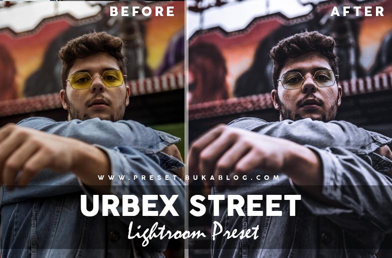Before After Using Urbex Street Lightroom Preset