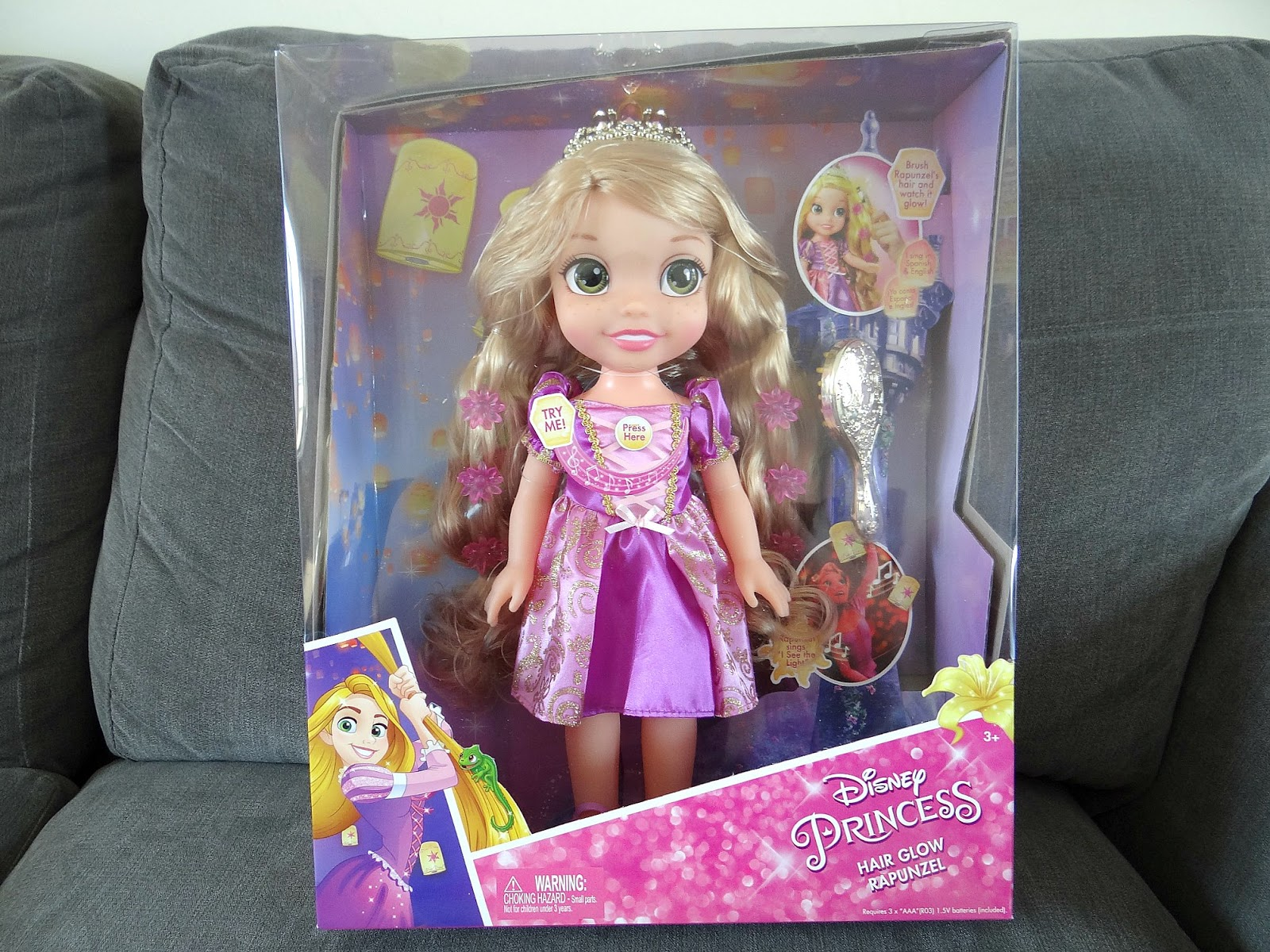 Disney princess, Rapunzel doll, Disney Doll