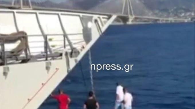 Αντίρριο: Παρασύρθηκε από ρεύματα και τον έσωσε ferry boat
