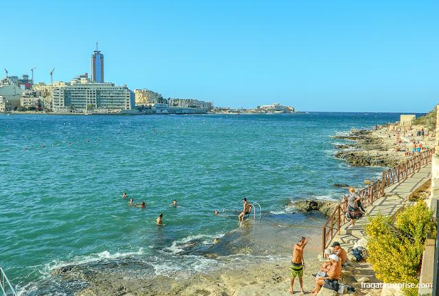 Praia de Sliema, Malta