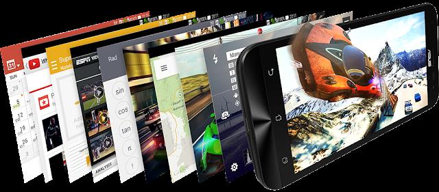 Multitasking bukan masalah dengan ZenFone 2 Laser ZE500KL