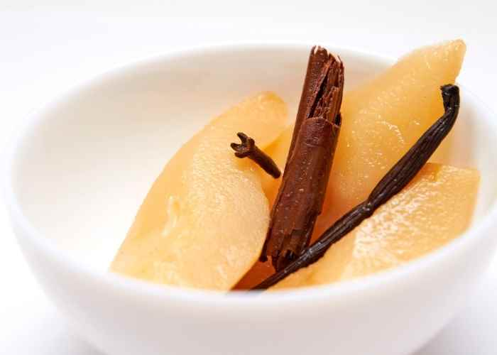 Spiced Pears for Canning