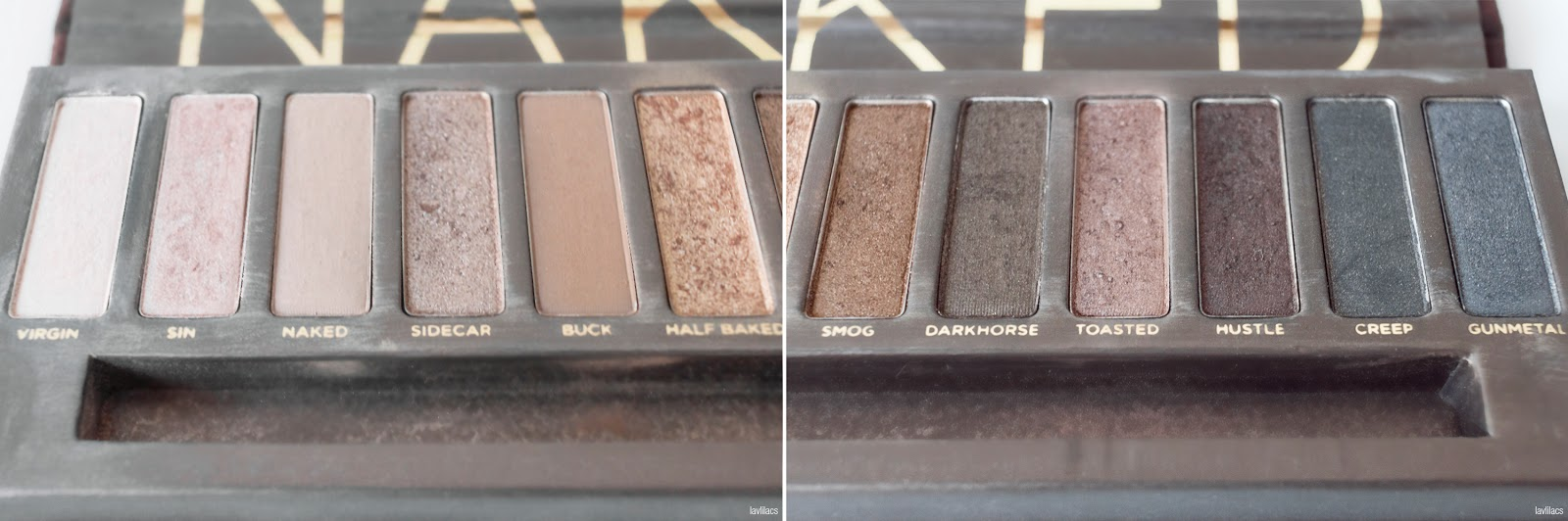 lavlilacs 2018 Project Make a Dent - beginning - Urban Decay Naked Palette