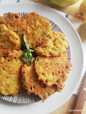 Tortillitas de pescado fáciles y crujientes