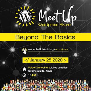 WordPress Akure Meetup - FutaNewsandGist.com