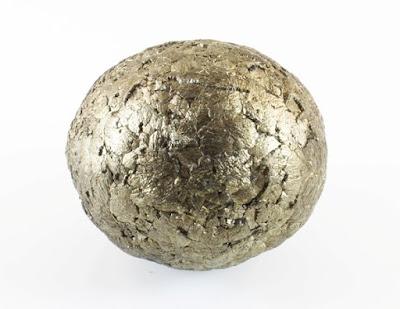Pirita esferoidal natural - concrecion procedente de China - foro de minerales